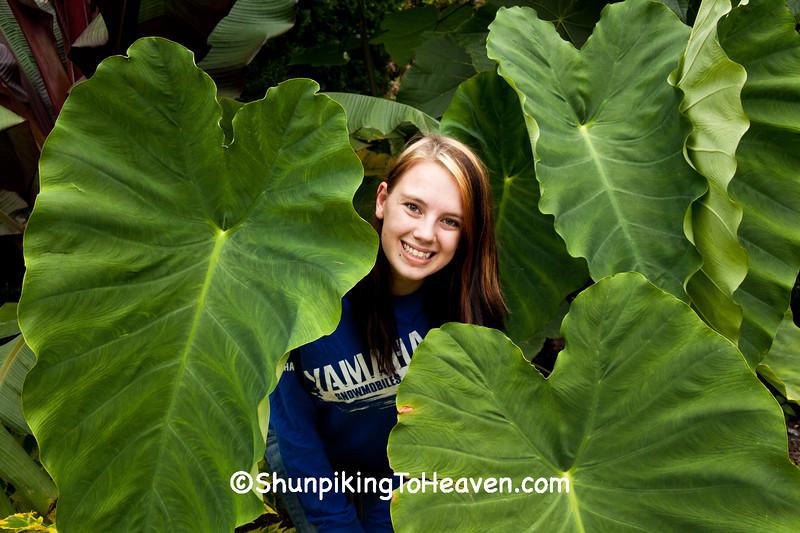 Emili, Olbrich Botanical Gardens, Madison, Wisconsin