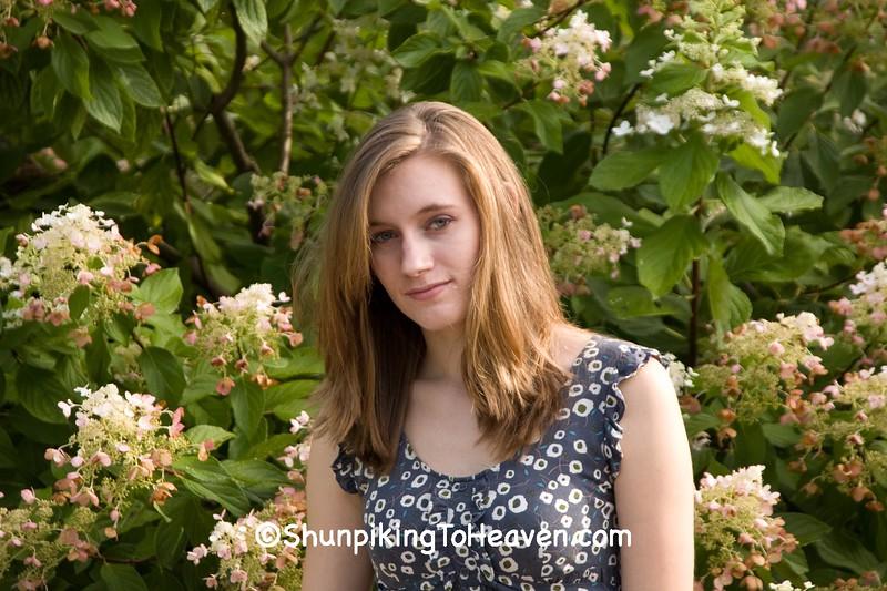 Emily, Olbrich Botanical Gardens, Madison, Wisconsin