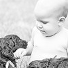 150809-Reece 1st Bday_puppies-0002BW-2