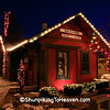 Railroad Depot at Christmastime, Dane County, Wisconsin