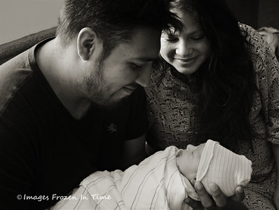 Tanya, Sergio and Baby Liam