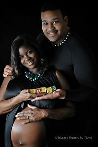 Couple Maternity Portrait Session