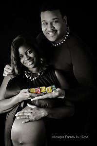 Couple Maternity Portrait Session