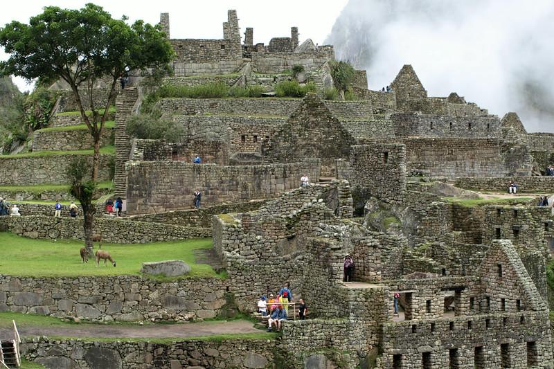 Walled Machu Pichu