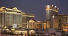 An evening time exposure of Caesars Palace.<br /> <br /> Image by Martin McKenzie ~ All Rights Reserved
