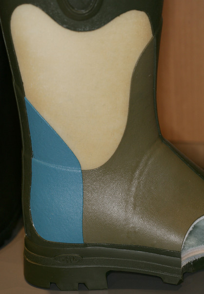 Closeup of boots by Le Chameau at the Lipsey's Pavilion<br /> <br /> Image by Martin McKenzie ~ All Rights Reserved