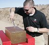Winchester Ammunition ~ ballistic gelatin test<br /> <br /> Images by Martin McKenzie, all rights reserved