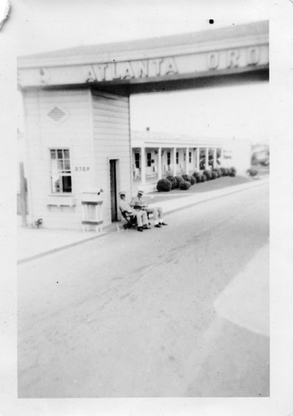 Main Gate of Atlanta Ordinance Depot (June 1947)