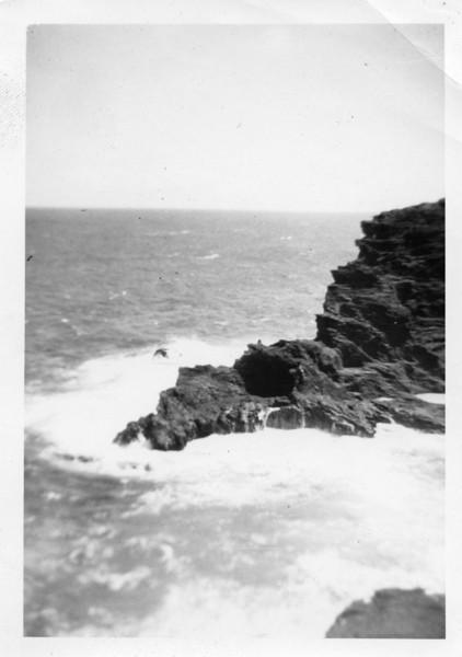 Rocky Coastline in Hawaii