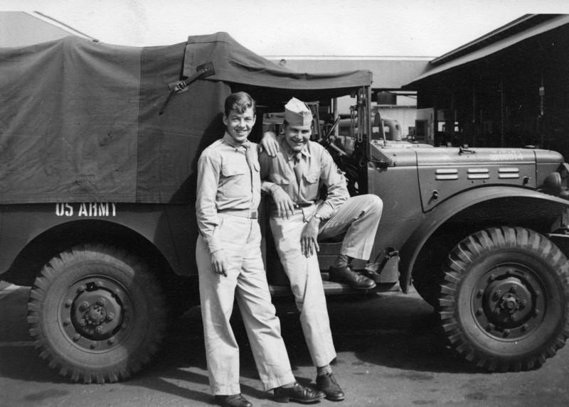 Horace Simbler of Cheltenham and Leo Fitzgerald (Hawaii 1947)