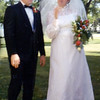 Bob and Dee Cook, Wedding day!