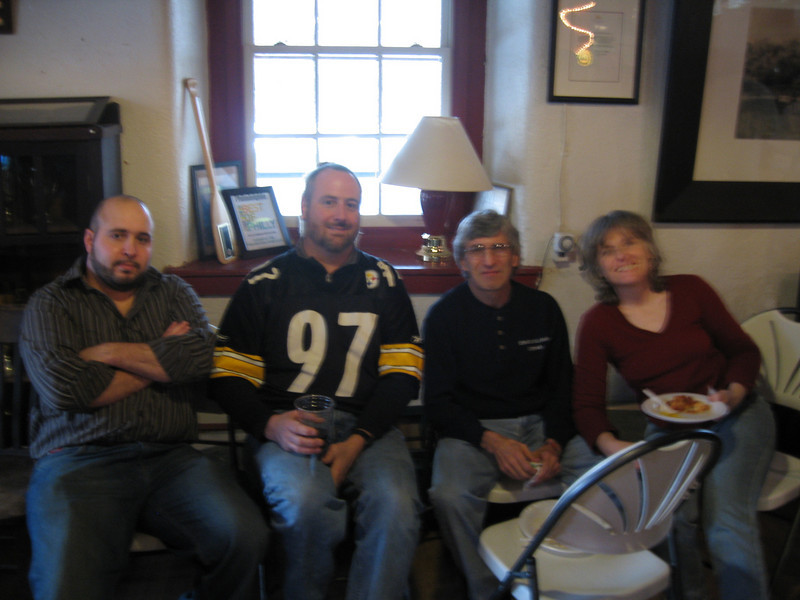 Hey, who invited the Steelers fan?