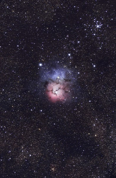 Trifid Nebula Shot By Grant Bisset