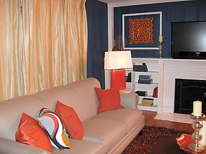 Created by David Bromstad at Sofa Outlet for HGTV's Color Splash.