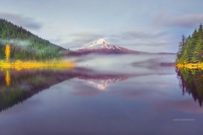 Trillium Lake ,Oregon