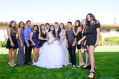 Aleeah Cortez 2-14-15 Friends and Family