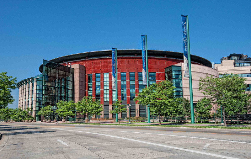 Pepsi Center from Front
