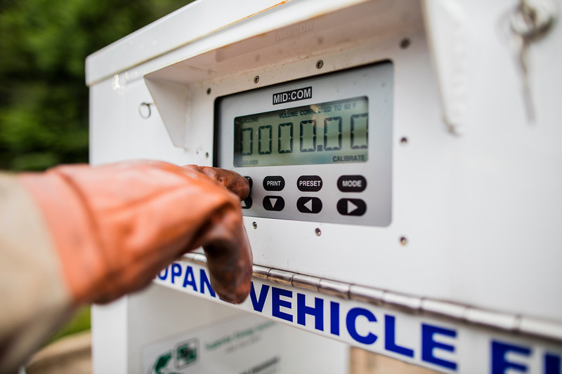 Fueling with propane autogas is easy and takes about the same time as fueling with gasoline or diesel.