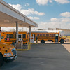 Alvin ISD's 18,000-gallon onsite propane autogas refueling station.