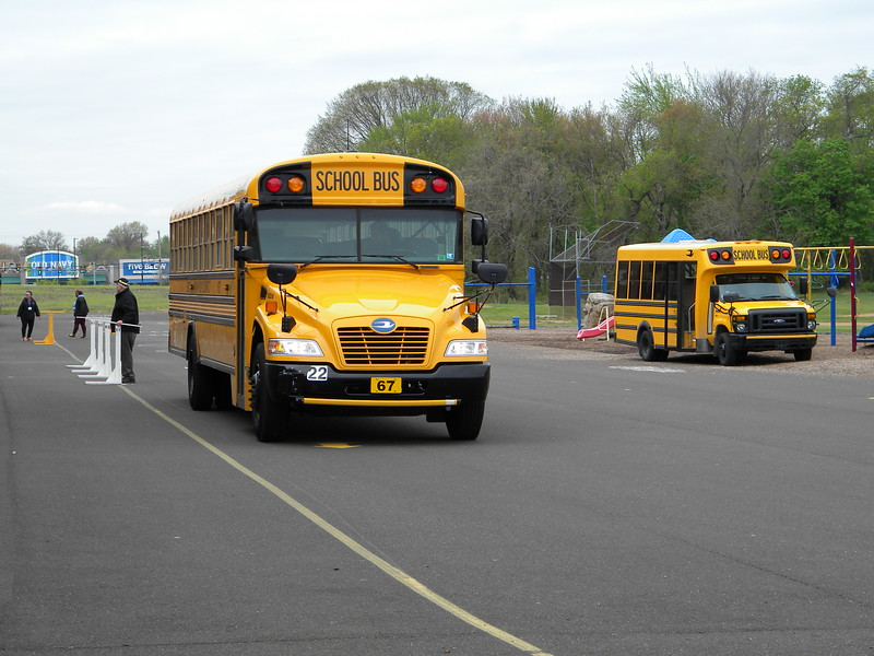 School bus drivers tested their skills at the 43rd Annual Montgomery-Bucks School Bus Safety Competition. For the first time, all of the buses were powered by propane autogas — the same propane used in back yard grills — for the competition.