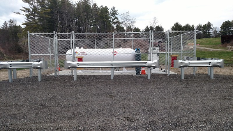 Gorham School District's propane autogas refueling infrastructure.