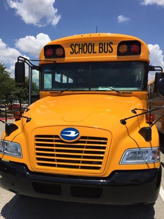 Leander ISD's 127-propane bus fleet reduces NOx emissions by more than 130,000 pounds and particulate matter by almost 3,000 pounds each year when compared with the diesel buses they replaced.
