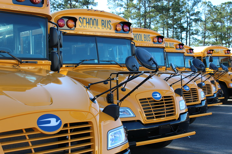 In an effort to be more economically and environmentally responsible, the state of South Carolina has purchased Blue Bird Vision Propane school buses to replace aging diesel buses. The alternative-fueled buses will be deployed to service Dorchester and Berkeley counties.
