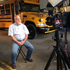 Discussing benefits of propane autogas buses.