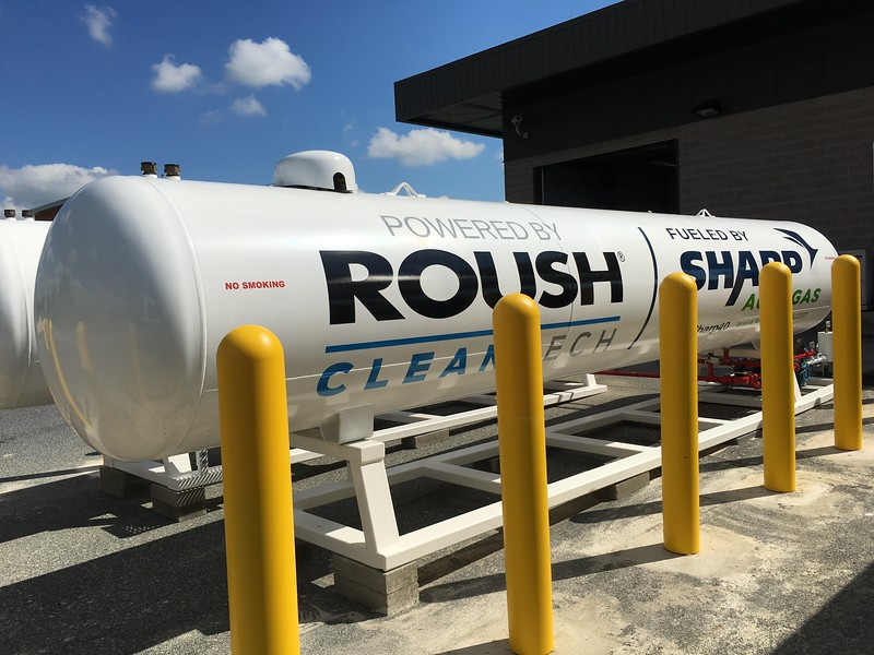 Sharp Energy, a subsidiary of Chesapeake Utilities Corporation, provides the fuel supply for the DART paratransit buses along with providing technical and maintenance support for DART's vehicles and fueling stations.