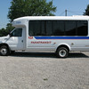 Cleveland RTA Paratransit shuttle van fueled by propane autogas.