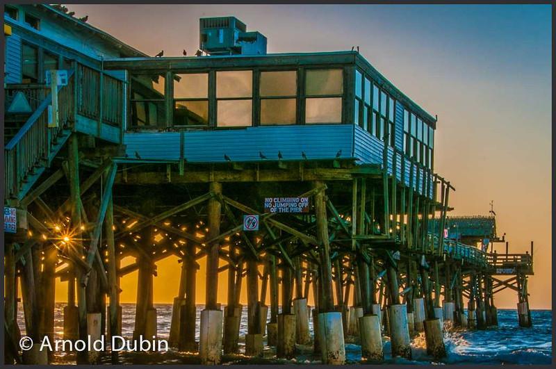 Cocoa Breach pier