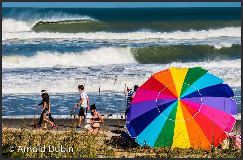 Indialantic Beach, Florida Sunday afternoon