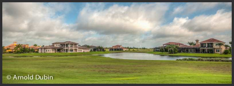 Houses on Duran Golf Course