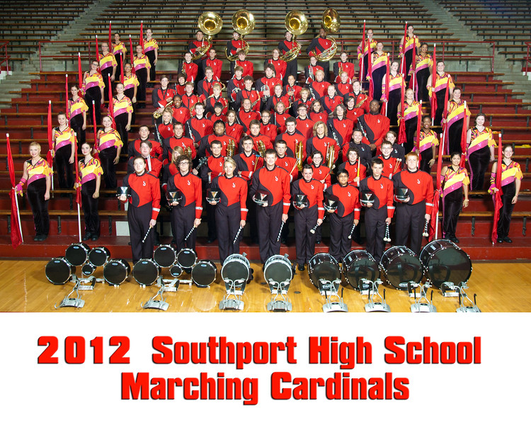 2012 Band Group SHS cards