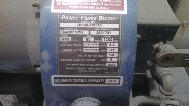 20150402 111038 Power Flame Burner ID2