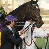 Royal Delta  after winning  the Breeders Cup Ladies Classic.
