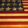 Flag image closeup