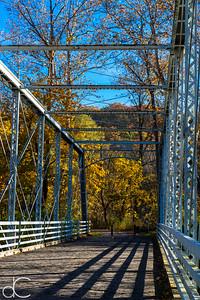 Station Road Bridge, Cuyahoga Valley National Park, October 2015.