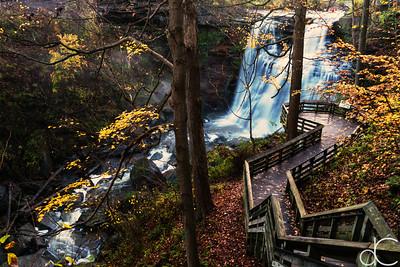 Brandywine Falls, Cuyahoga Valley National Park, October 2016.
