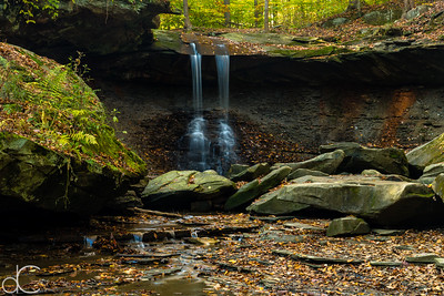 Blue Hen Falls, Cuyahoga Valley National Park, October 2015.