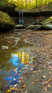 Blue Hen Falls, Cuyahoga Valley National Park, October 2015.