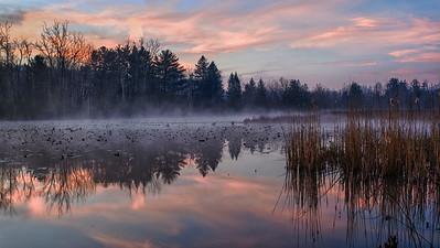 Beaver Marsh Sunrise - March 23, 2012