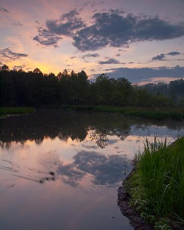 Beaver Marsh Sunrise - June 7 2009