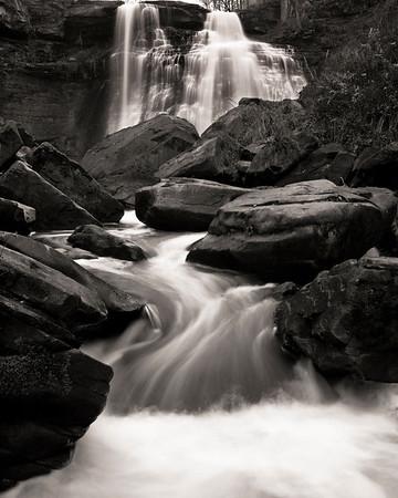 Brandywine Falls - Nov 24, 2010