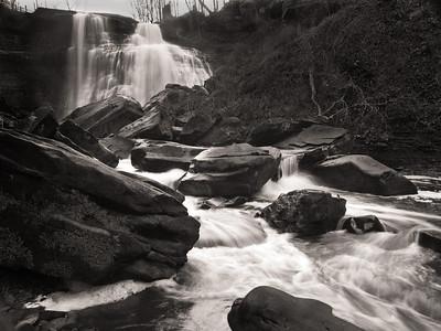 Brandywine Falls - Nov. 26, 2011