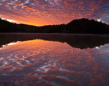 Kendall Lake Sunrise - May 16, 2010