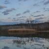 Moon over Beaver Marsh