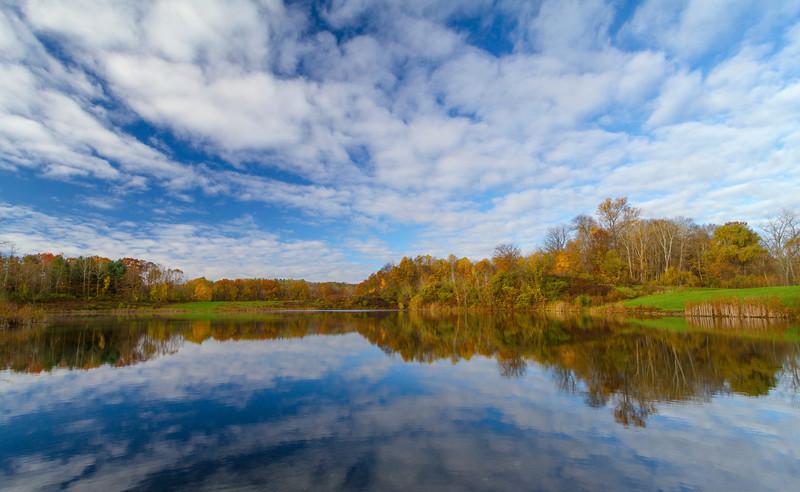 Blue Skies over Indigo Lake