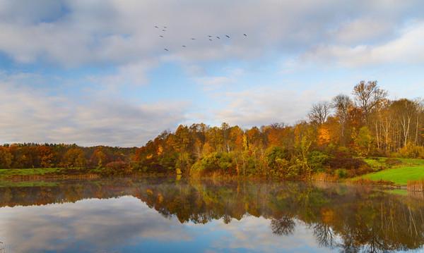 Fall Morning at Indigo Lake