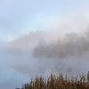 Autumn Fog at Indigo Lake